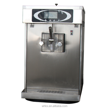 soft serve frozen yogurt machine with pre cooling stainless steel CE certification
