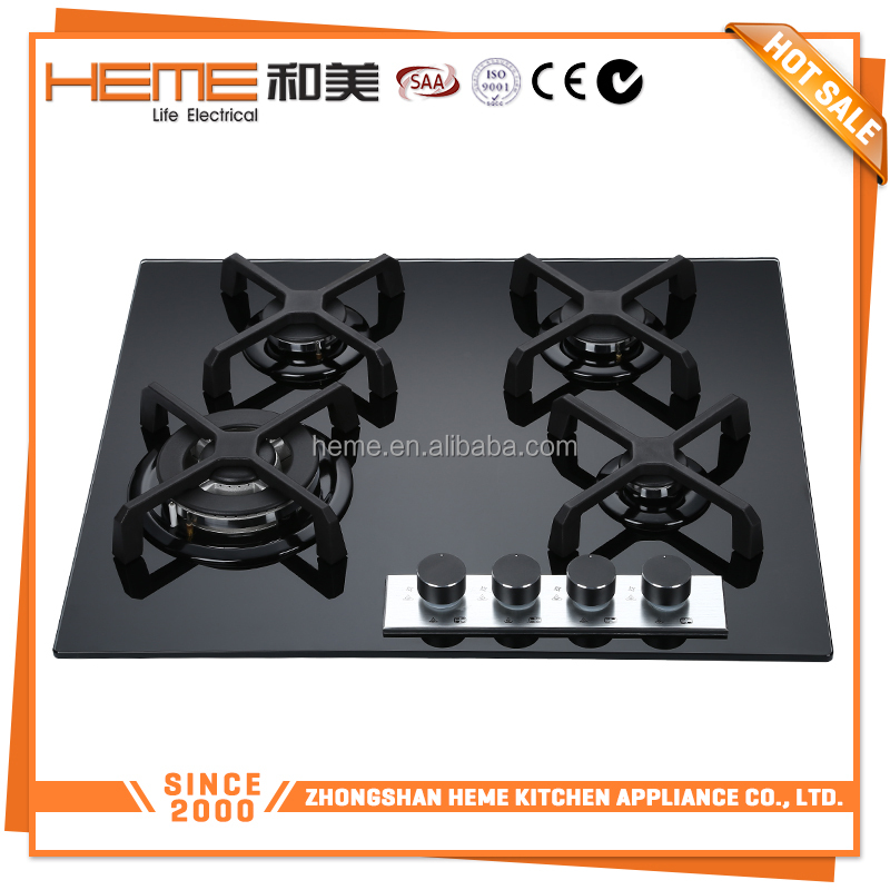 Trend tempered glass top for gas stove/range cooker/electric cooktop(PG6041G-E3CBA)