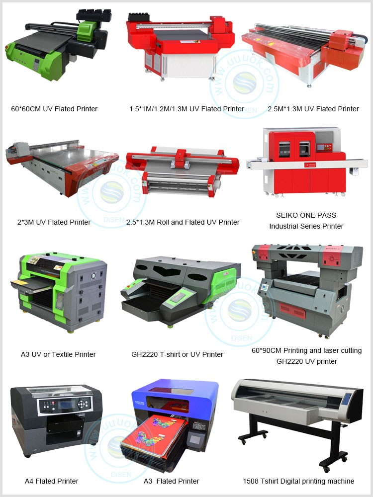 Disen factory outlet DSP-AC1325 UV flatbed glass printer