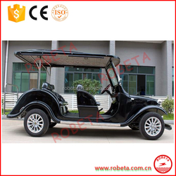 convertible 6 person 4kw electric used classic car for sightseeing/Whatsapp: 0086-18137714100
