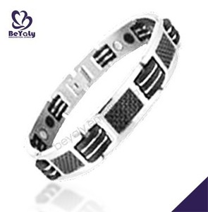 high quality fashion jewelry stainless steel men's bracelet watches
