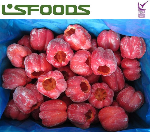 2014 China wholesale IQF frozen red bell pepper