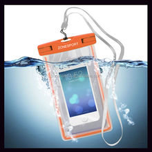 Wholesale Phone Waterproof Case,2014 high quality clear mobile phone pvc waterproof bag