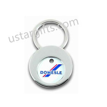 Popular Soft enamel custom zinc alloy caddy coins, cheap keychains