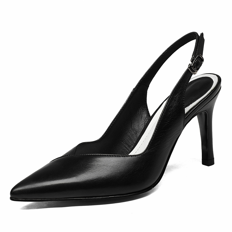 buckle strap Pointy Party Pumps Classic Stiletto High Heel Shoes