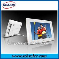 7 inch clear plastic picture frames(DPF9730)