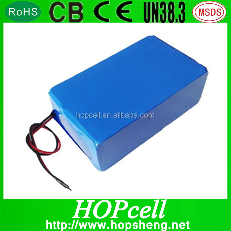 HOPcell DIY 18650 lithium ion battery pack with PCM 12v 20Ah