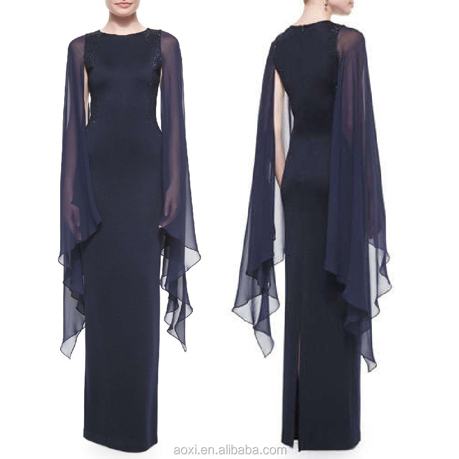 OEM high quality clothing manufacturer New arrival dress cutting 2016 long gown
