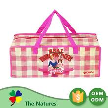 Bargain Sale Hot Selling Cheque National Wind Embroidered Supplement Bag