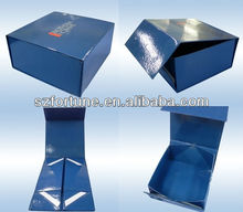 Foldable paper box collapsible magnetic gift box