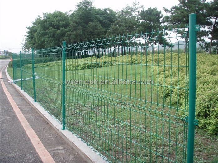 High Security Guangzhou Supplier Metal Fence/ Highway Fence/welded mesh fence