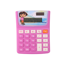 Plastic Cute Cartoon Animal Desktop Calculator For Children