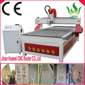 3d cnc router wood machine from jinan