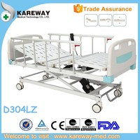 Low price medical bed,adjustable metal hospital bed,weighing bed