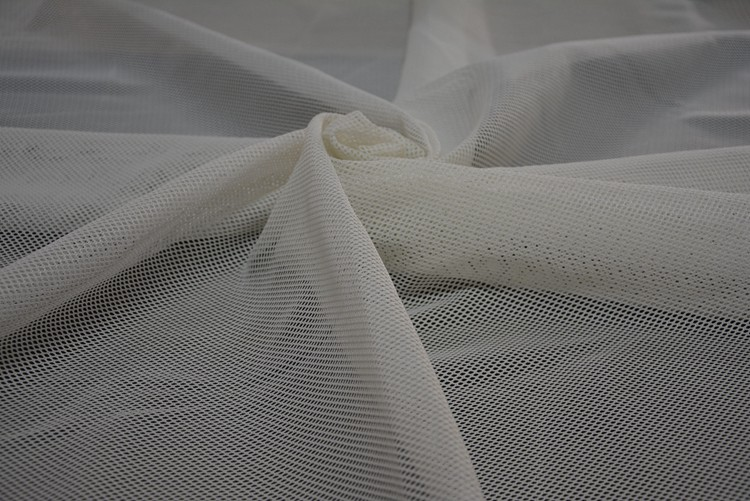 Different color Mirror 100 Polyester Micro Mesh Fabric