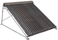 Split Solar Water Heater ,Pressurized Bearing Solar panel collector,vacuum tubes heat pipe 24mm flexible solar panel