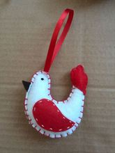 Handmade Decorative Cheap Christmas Decorations Bird