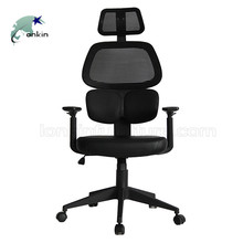 Wholesale hot selling black cheap swivel mesh back office chair