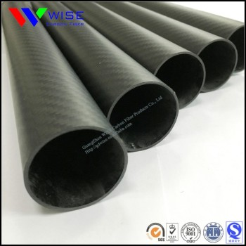 Hot sale CFRP 3K carbon fiber tube 6 8 10 12 14 15 16 18 19 20 22 23 24 25 27 30 32mm