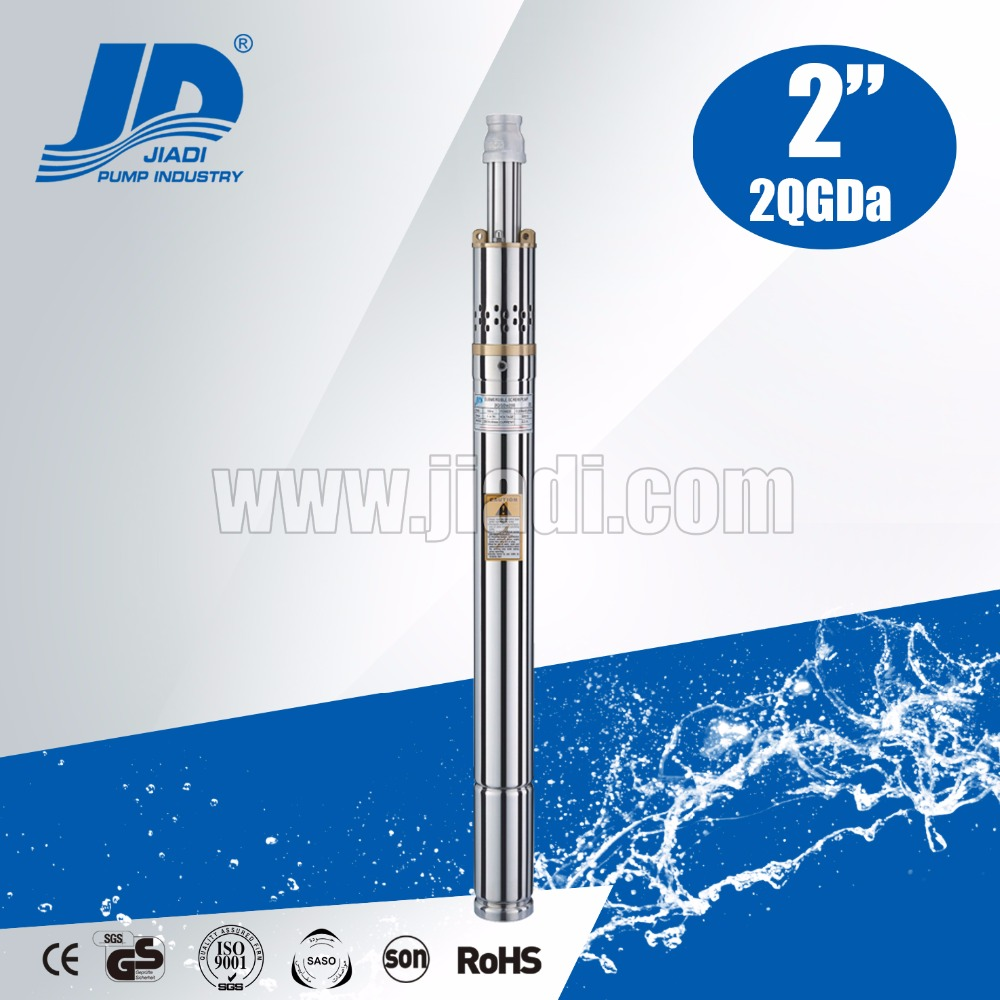 2QGDa screw deep well submersible pump 2 inch diameter