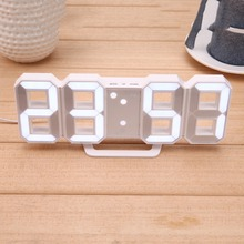 Hot sales Backlight Jumbo Low Price Display Alarm Light Table LED Word Electric Digital Plastic Wall Clock