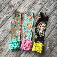wholesale for pre order baby girls fall and winter icing pant icing top floral icing ruffle pant