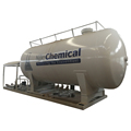 chengli brand 10m3 20m3 gas mobile lpg filling station with lpg scale