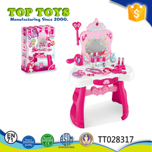 2017 Newest design Dressing table play set for girls with sound and light