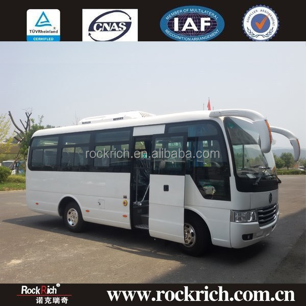 2015 Popular Bus Models 20 Seater 6.6m Scale Models Bus