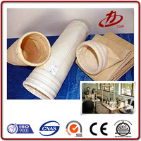 Strong acid and alkali resistant pps material filter bag for power plant dust collector