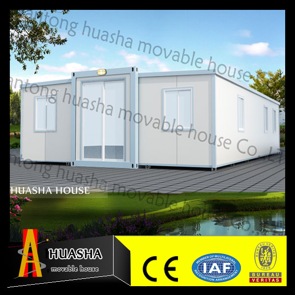 China factory built prefab cottages homes for sale