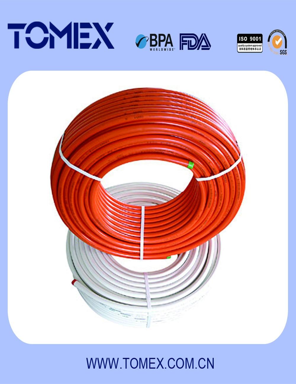 Ppsu pc material pex pipe fitting tee for canada market for Come collegare pex pipe al rame
