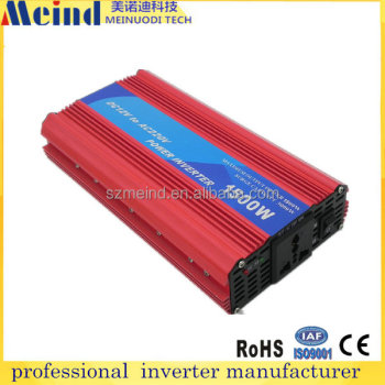 China supplier New products 2016 inverter power inverter 1500w 12v to 220v dc to ac inverter