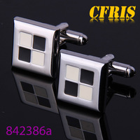 Factory direct sales square lovely cufflinks