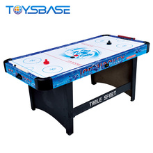 Dome Table Hockey Popular Tabletop Amusement Sport Air 3-in-1 Pool Table and Air Hockey Table