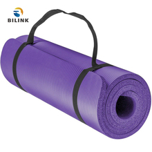 Bilink Wholesale colorful high density comfortably Non-toxic 1830x610x10mm mandala NBR pilates yoga mat