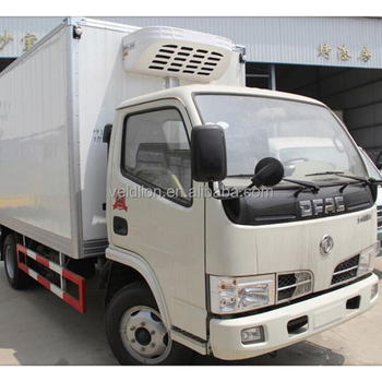 Dongfeng 4x2 5tons refrigerator truck,mini refrigerator truck