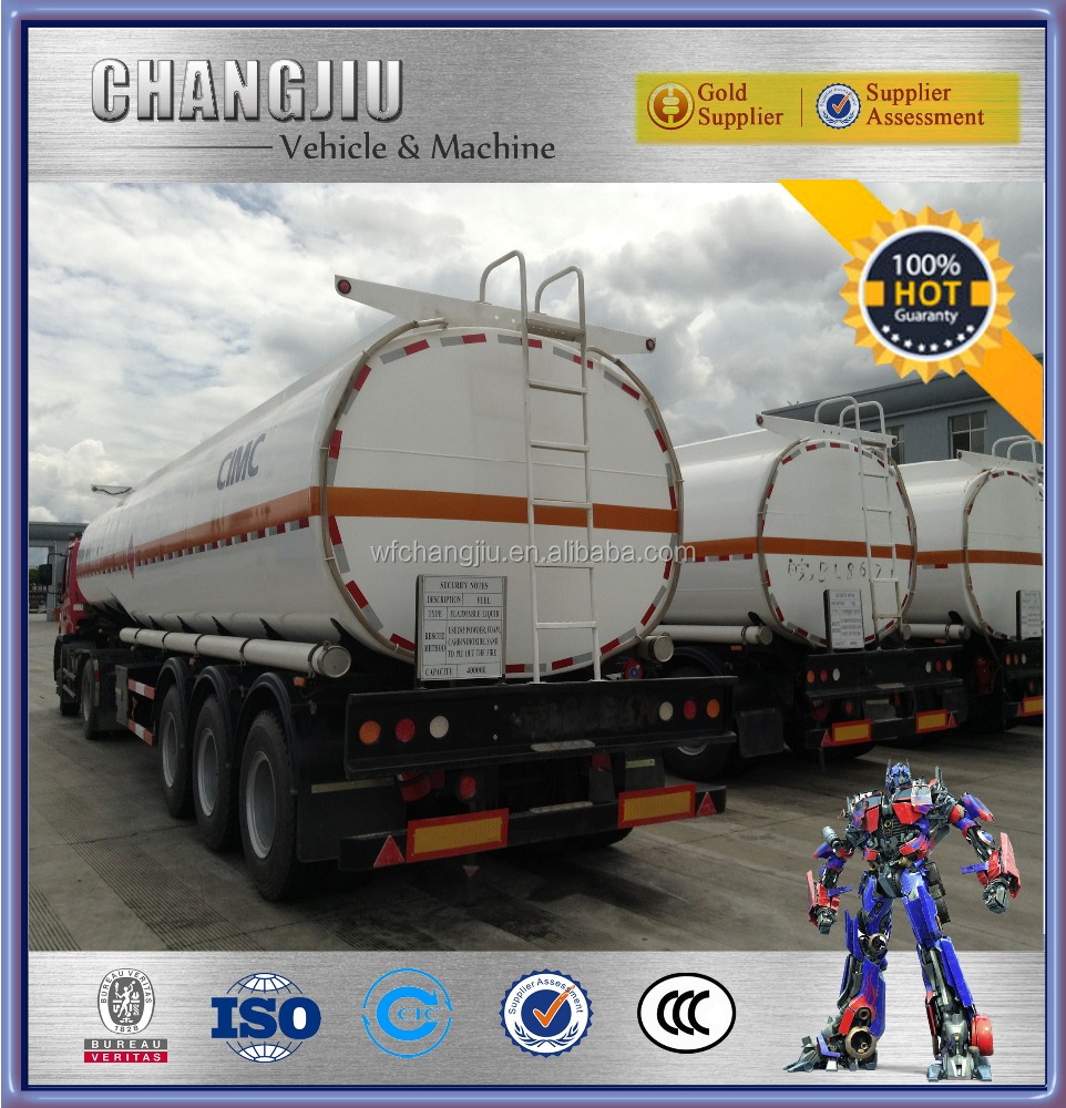 Hot sale fuel tanker semi trailer,sewage tanker trailer