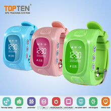 China Factory Handheld wrist watch personal gps trackers gps watch google map for kid/children
