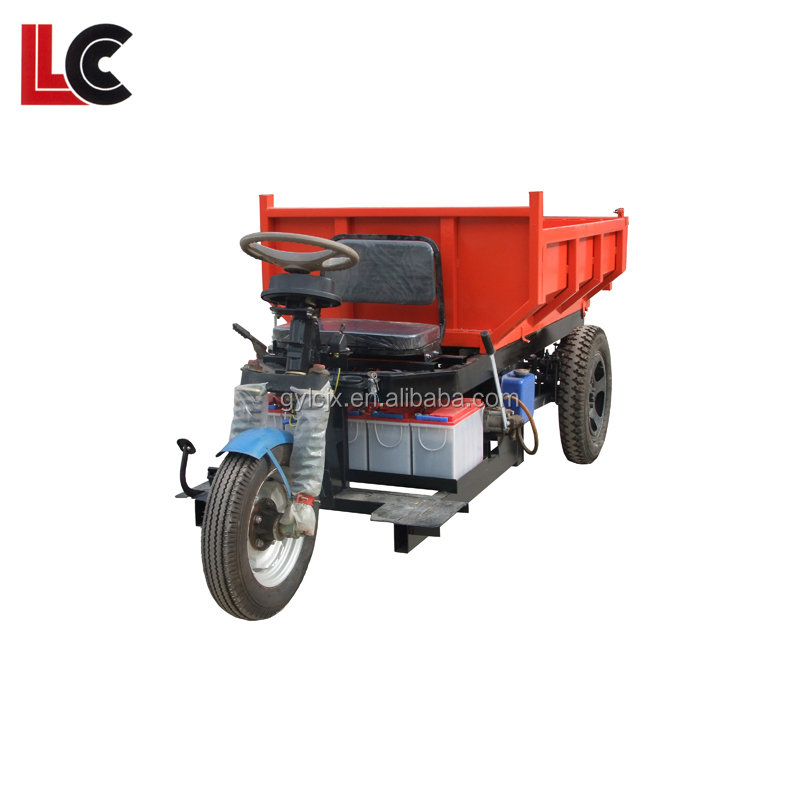 Licheng small household engineering dump truck / Agricultural three dump truck prices