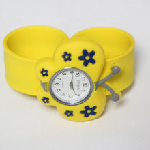 Fashion style cute slap watch custom slap bracelets