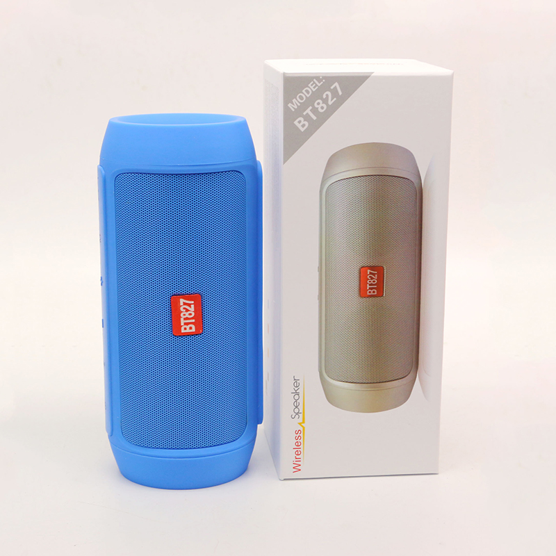 four color option powerbank speaker bluetooth handsfree waterproof with USB port TF card DC5V input voltage