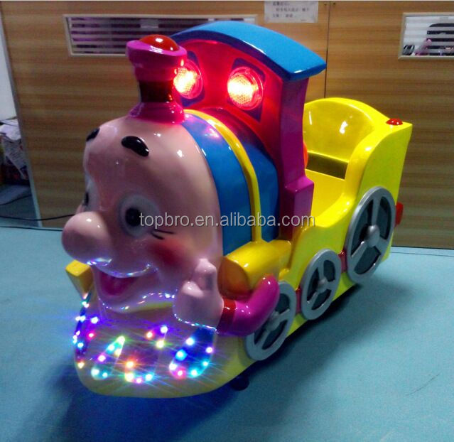 coin operated kids electric train rides