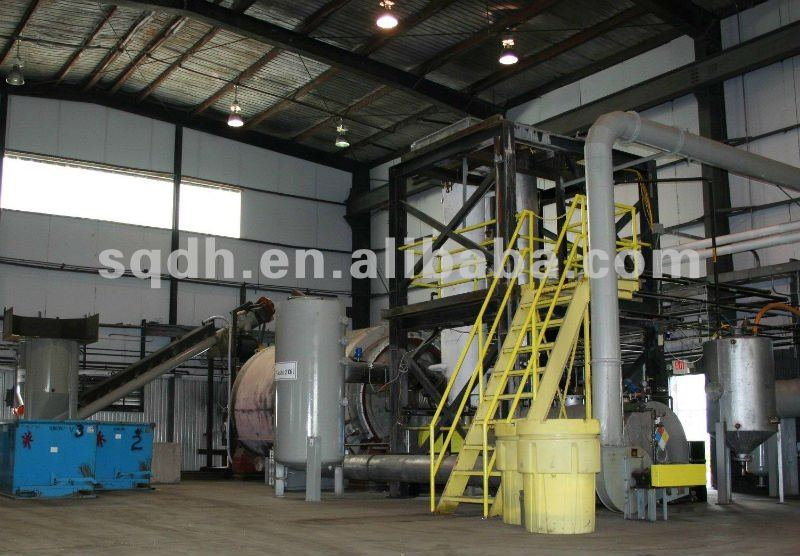 waste plastic pyrolysis to fuel oil device