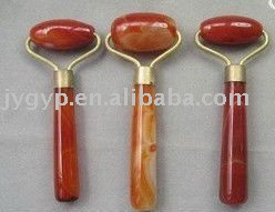 agate jade facial,neck or body massager