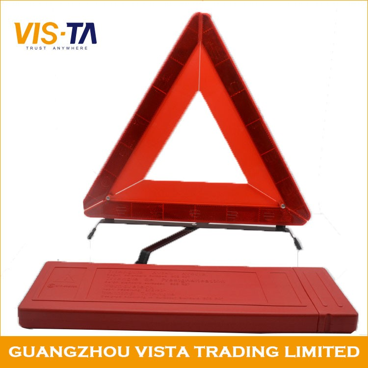 good selling car warning triangle board distance from car