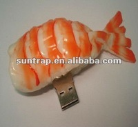 1GB,2GB different food shrimp sushi meat promotion gift usb flash drive/pendrive/stick/flash memory