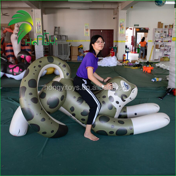 Hot sale Inflatable leopard Toy / Laying Animals Pool Toy
