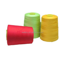 China Hubei Welljoy factory high strength 100% spun polyester sewing thread 20s/2 30s/2 40s/2 50s/2 60s/2