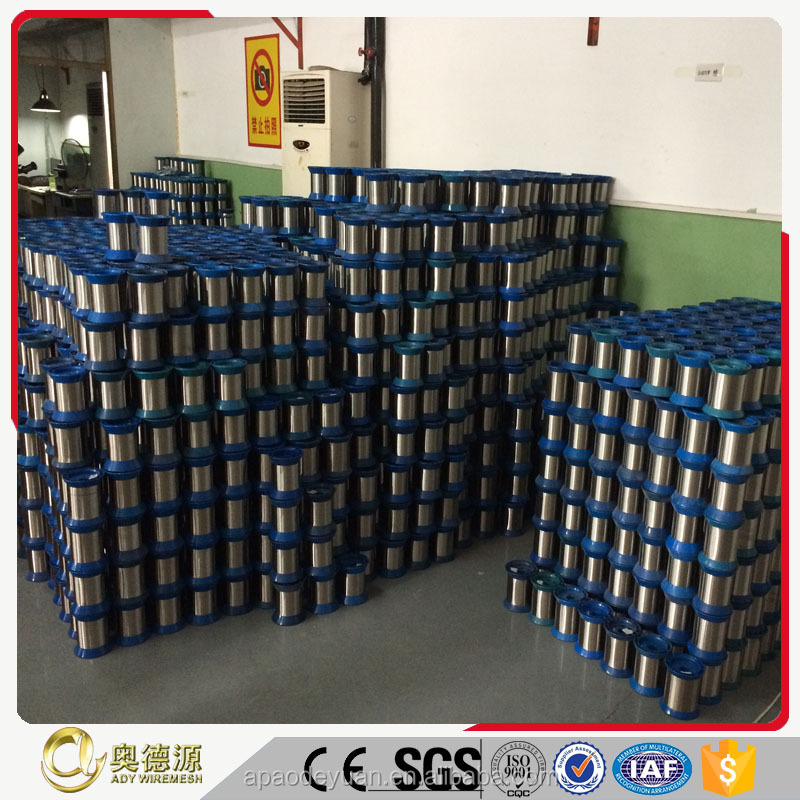 Quick ship conductive filament yarn Stainless Steel yarn In Stock China Supplier